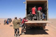 Motorradverladung