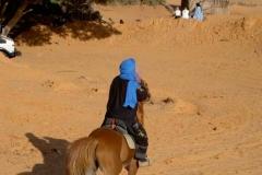 Turareg_ auf_ Pferd